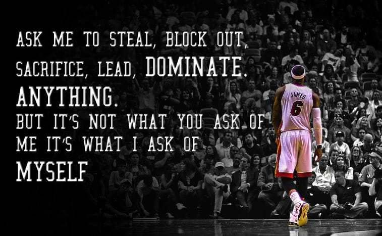 79 Legendary Lebron James Quotes Selected For You Statusquoteswishes Com