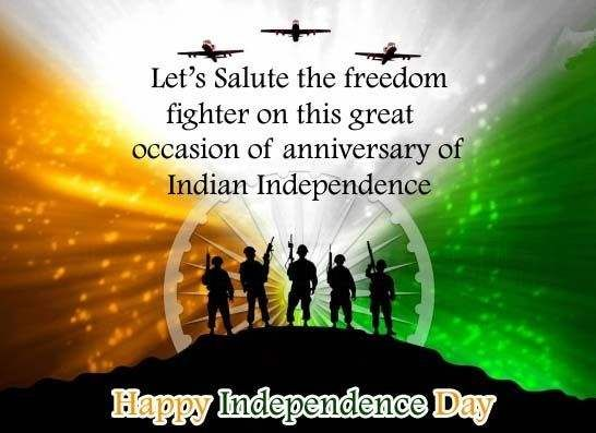 status about independence day
