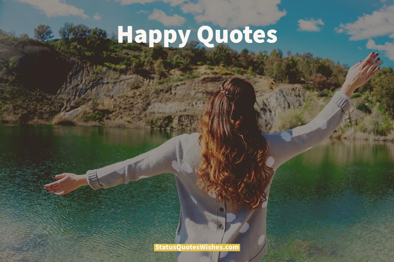 Happy quotes wallpaper