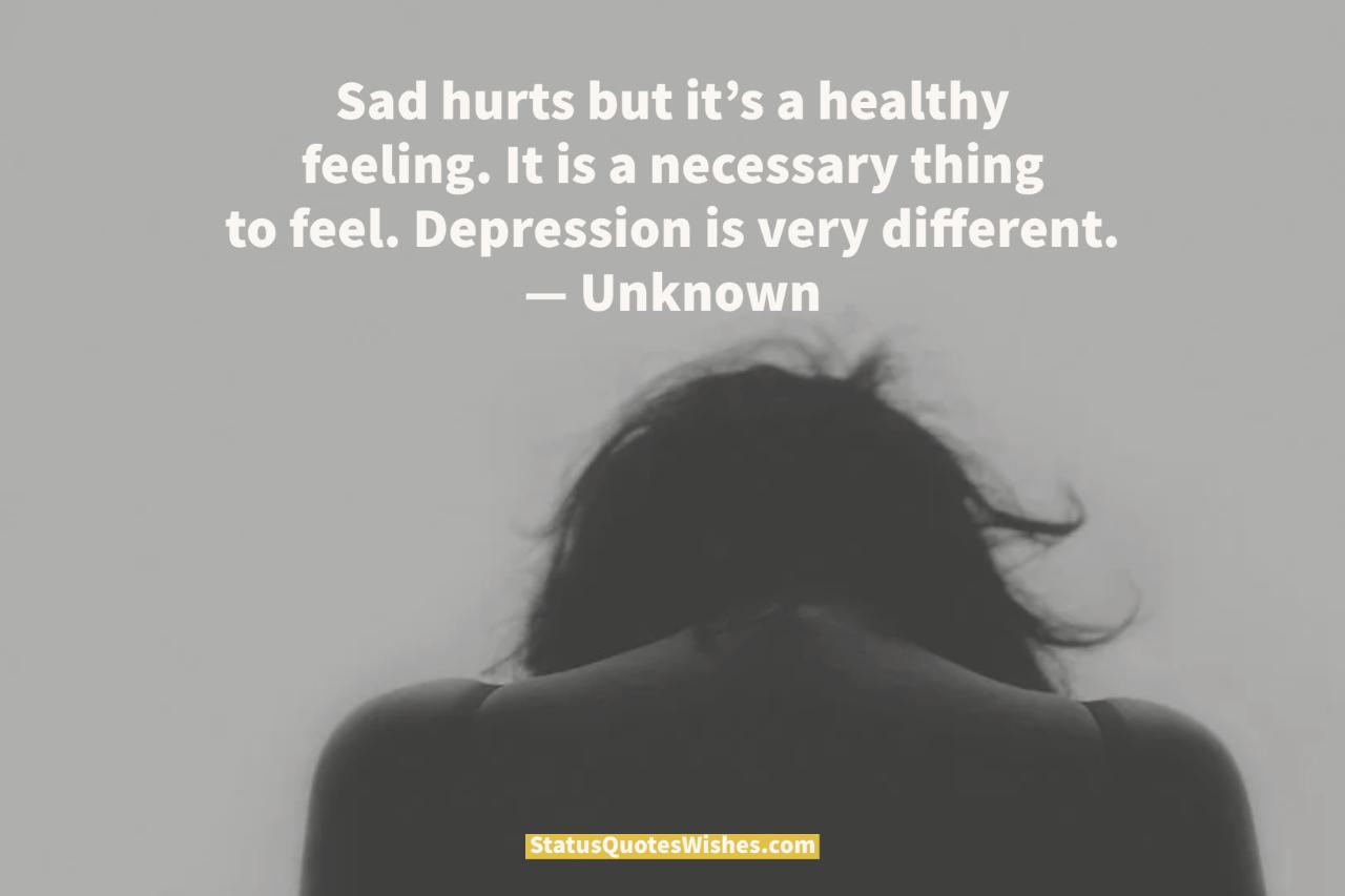 deep depression quotes
