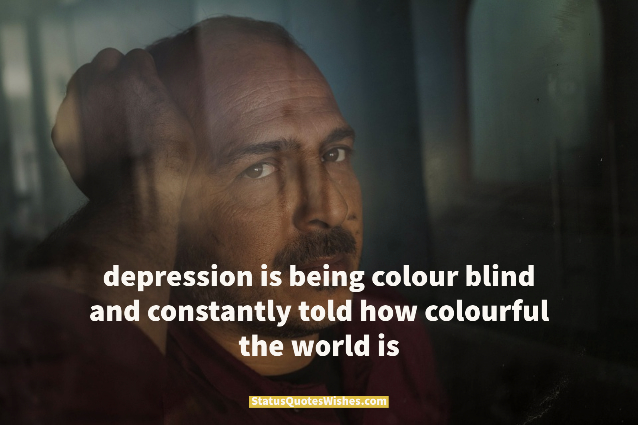 depression is real quotes