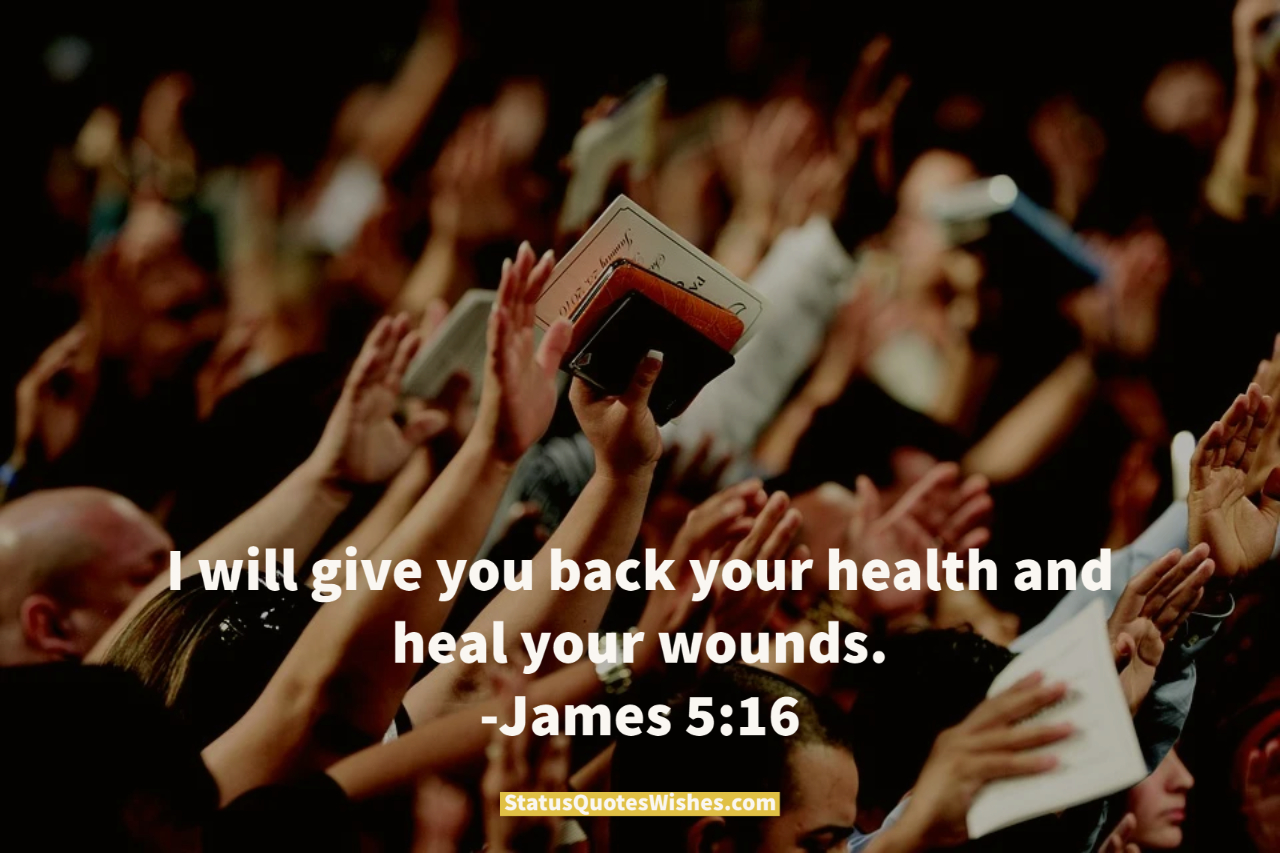 bible quotes about healing