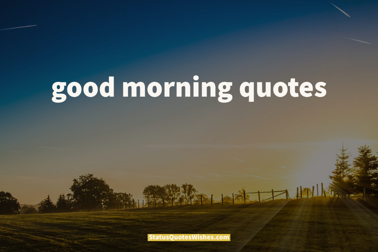 good morning quotes wallpaper