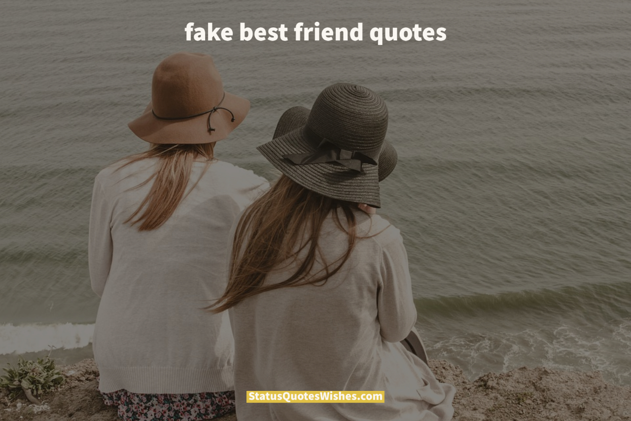 fake best friend quotes wallpaper