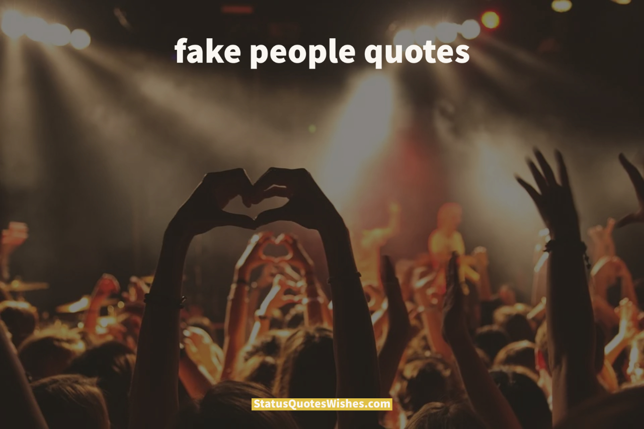 fake people quotes wallpaper