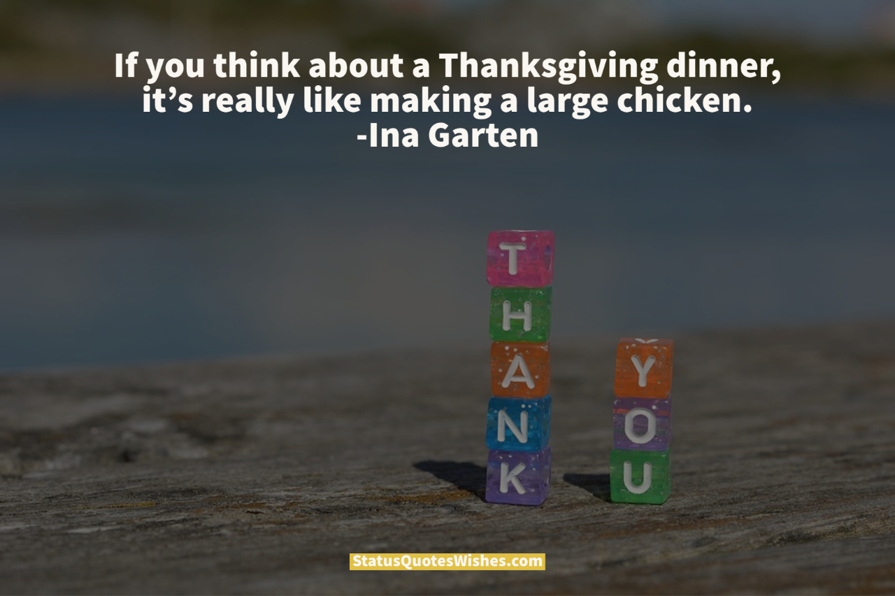 gratitude thanks giving quotes