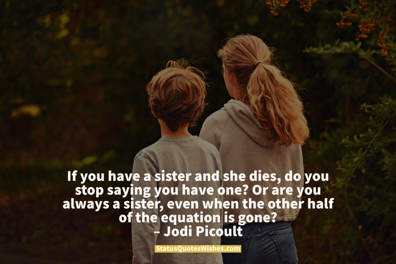inspirational sister quotes