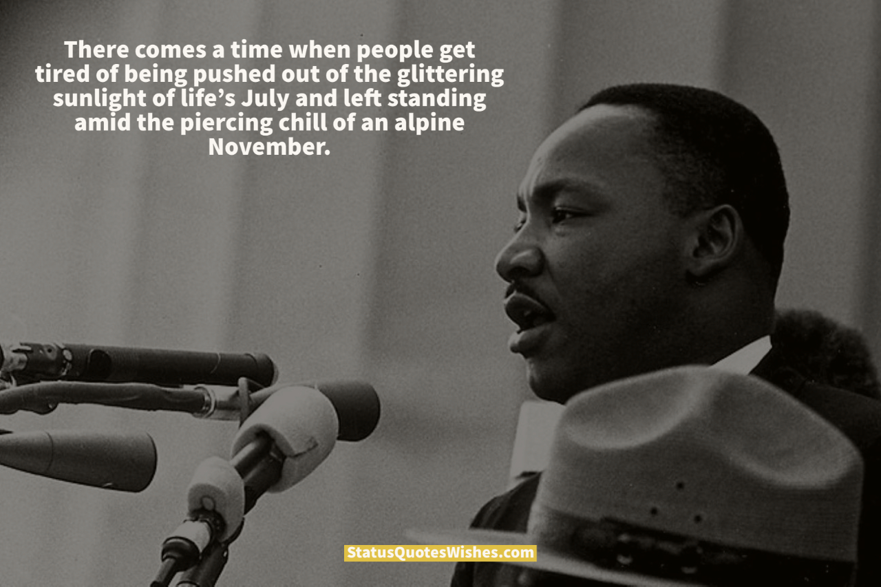 martin luther king jr protest quotes